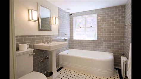 modern white subway tile bathroom designs  ideas