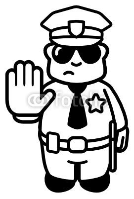 policeman with gun clipart black and white policeman black and white clipart