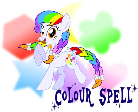 how do you spell color mlp fim ocs colour spell by meganlovesangrybirds on