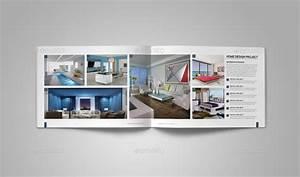 Interior design portfolio template by habageud graphicriver for Interior design portfolio template