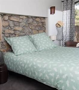 Housse De Couette Vert D Eau : chambre with housse de couette vert d eau ~ Teatrodelosmanantiales.com Idées de Décoration