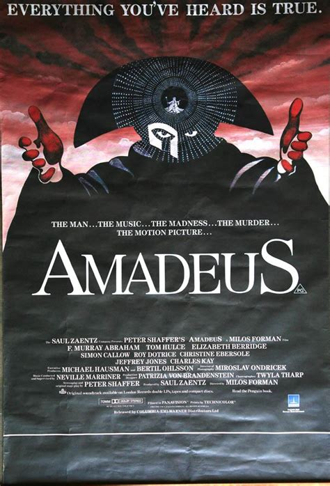 Find out how amadeus is helping its customers. Amadeus (AAW) (GGDW) (BAFTAN) - Movie Posters Gallery
