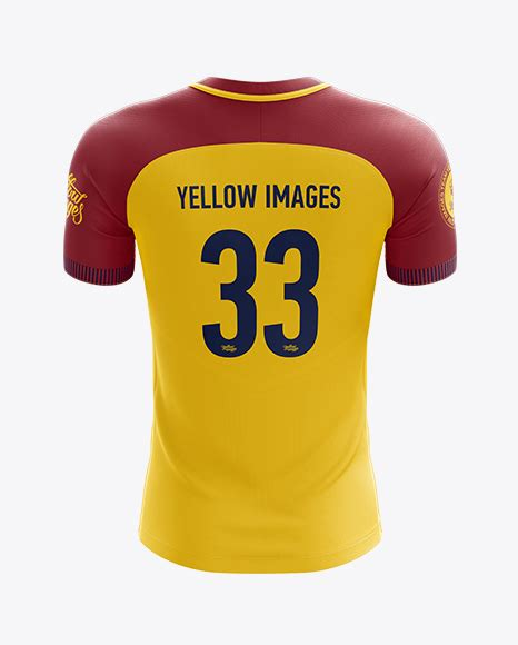 mens soccer team jersey mockup  view  apparel