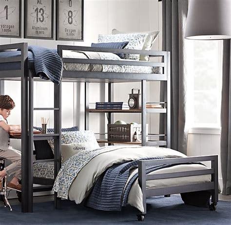 restoration hardware kenwood bunk bed restoration hardware bunk bed industrial loft bunk bed