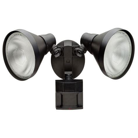 defiant lighting customer service defiant 110 degree black motion activated outdoor flood