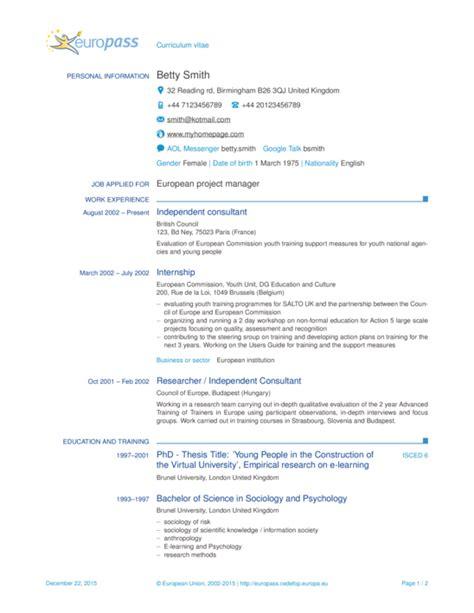 europass cv template sharelatex editor