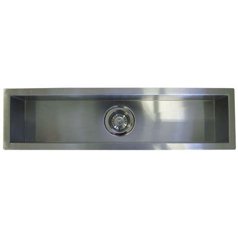 zero radius undermount 42 inch stainless steel undermount single bowl kitchen