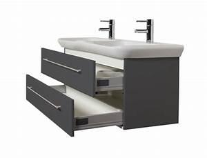 Keramag Myday Waschtisch : bad waschtisch mit keramag becken myday doppelbecken 130 cm breit grau bad waschtische ~ Buech-reservation.com Haus und Dekorationen