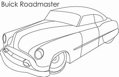 Coloring Pages Cars Buick Printable Roadmaster Classic