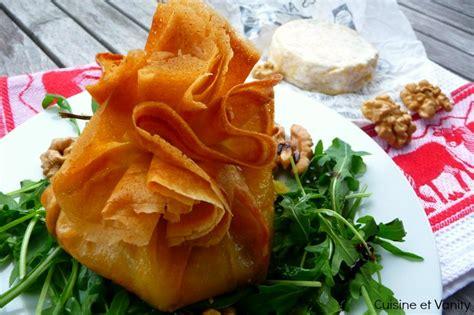 feuille de cuisine marcellin à la noix en feuille de brick cuisine et