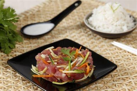 cuisine tahitienne recettes recette de poisson cru à la tahitienne facile et rapide