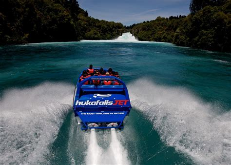 Huka Jet Boat by Hukafalls Jet Boat Audley Travel