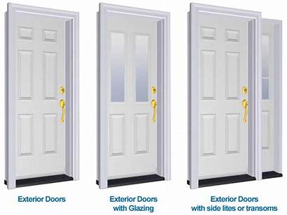 Types Door Exterior Doors Sash Entry Steel