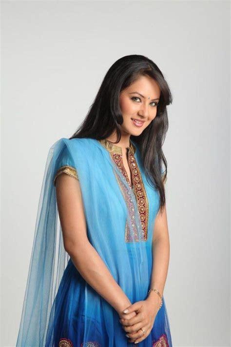 Pooja Bose In Blue Churidar Photos Actress Gallery