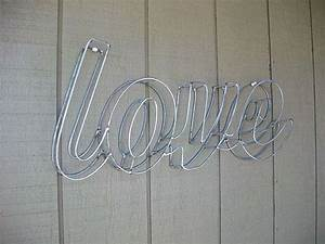 39 wire letters with diy instructions guide patterns With wire frame letters