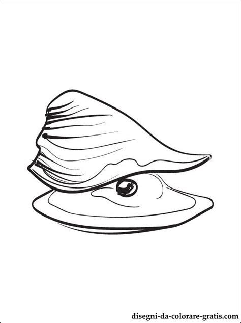 disegni da colorare ostrica disegni da colorare gratis