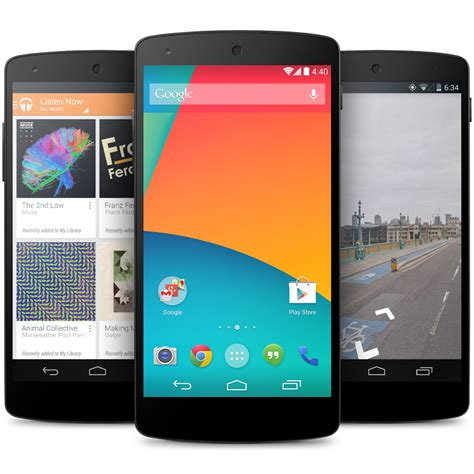 nexus android android 4 4 kitkat is official launching on the nexus 5