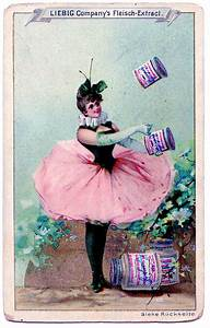 Vintage Clip Art - Fanciful Fairy With Pink Tutu