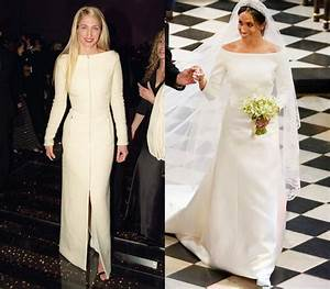 how meghan markle39s wedding dress pays tribute to carolyn With meghan markle wedding dress