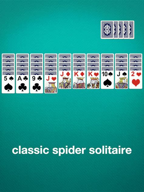 Free Spider Solitaire Card Game