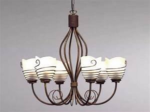 Lustre Pour Salle à Manger : luminaire classique pour salle manger lustre rouille sampa ~ Teatrodelosmanantiales.com Idées de Décoration