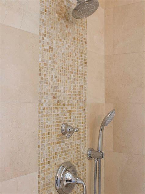 mosaic shower tile photo page hgtv