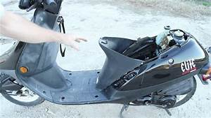 Honda Elite 50 - Rear End Removal