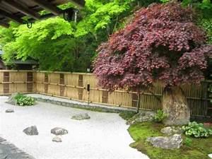 Idée Jardin Zen : d coration jardin ext rieur jardin rustique et jardin japonais ~ Dallasstarsshop.com Idées de Décoration
