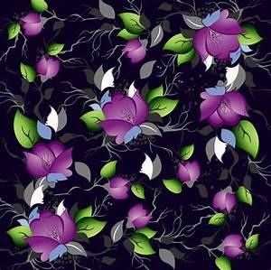 15+ Purple Floral Patterns   Flower Patterns   FreeCreatives