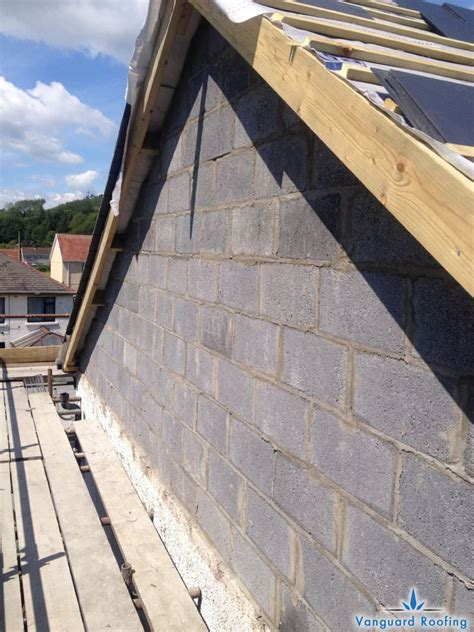 Hipped Gable Roof by Hipped Roof To A Gable Construction Vanguard Roofing