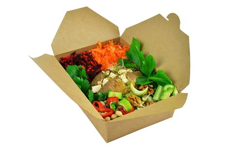 box cuisine compostable food