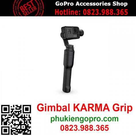 gopro karma grip gimbal cho gopro hero    black chuyen mua ban camera hanh trinh chinh hang