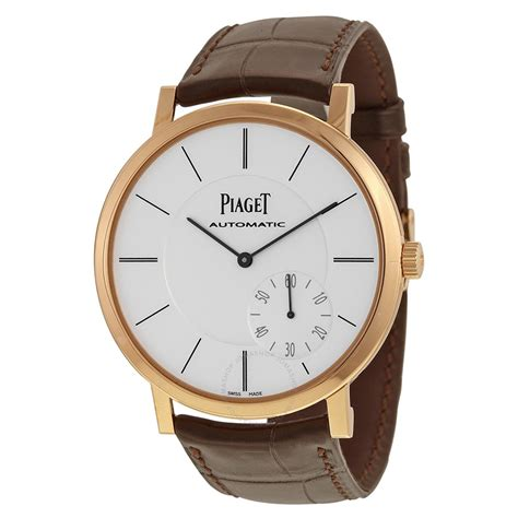 Piaget Altiplano Automatic Silver Dial Brown Leather Men's. Male Bands. Men's Irish Bands. Contemporary Men's Bands. Galactic Bands. Unconventional Men's Bands. Shaped Bands. Colored Bands. Large Bands