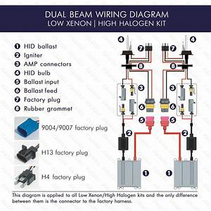 9007 Headlight Wiring Diagram