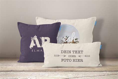 kissenbezug selbst gestalten kissen selbst gestalten und bedrucken lassen mit eigenem text oder foto