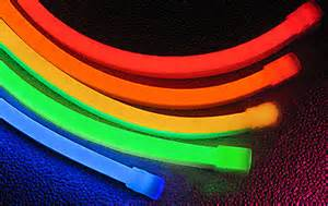 Low Power Flexible LED Neon Rope Lights Colored Jacket