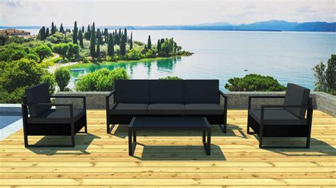 Table De Jardin Noir Et Gris by Stunning Salon De Jardin Gris Noir Photos Amazing House