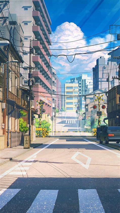 anime illustration wallpaper anime scenery