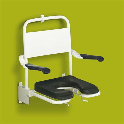 chaise pliante siège de rabattable mural avec lunette souple
