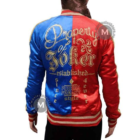 margot robbie suicide squad harley quinn jacket  sale