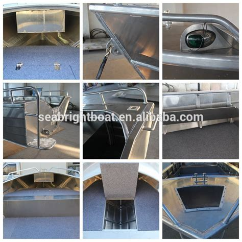 Wholesale Aluminum Boats by Wholesale Price All Welded V Hull 16 Foot Aluminum Boat