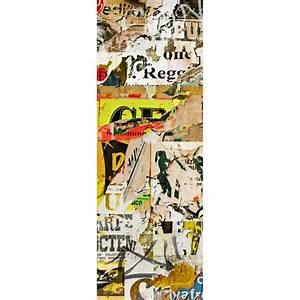Papier Peint Sticker : papier peint l unique tag art d co stickers ~ Premium-room.com Idées de Décoration