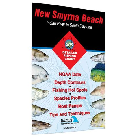 smyrna daytona spots fishing river florida indian south map beach