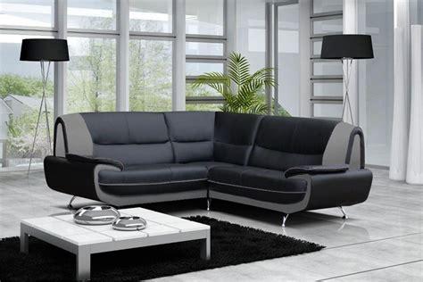canapé d angle noir et gris photos canapé d 39 angle gris et noir