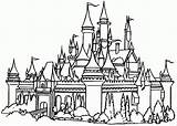 Coloring Castle Pages Print sketch template