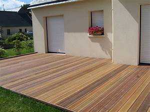 plots pour terrasse en bois plot terrasse bois sur With comment monter une terrasse en bois