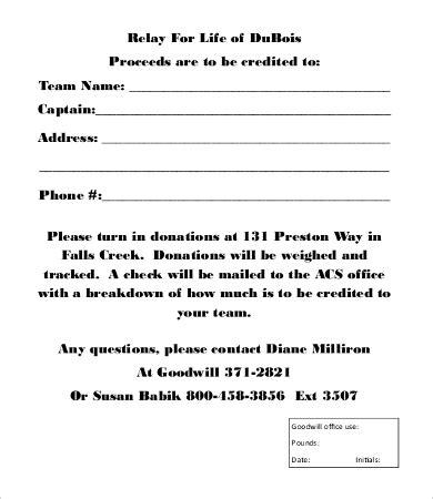 donation form template donation form template 8 free word pdf documents free premium templates