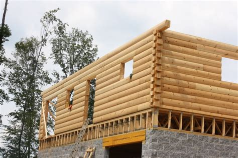 laminated log homes wood house log homes llc