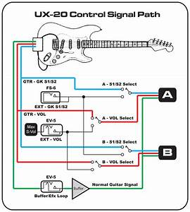 Ux Distributor With Buffered Guitar Input