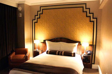 deco bedroom at nyc hotel decoist